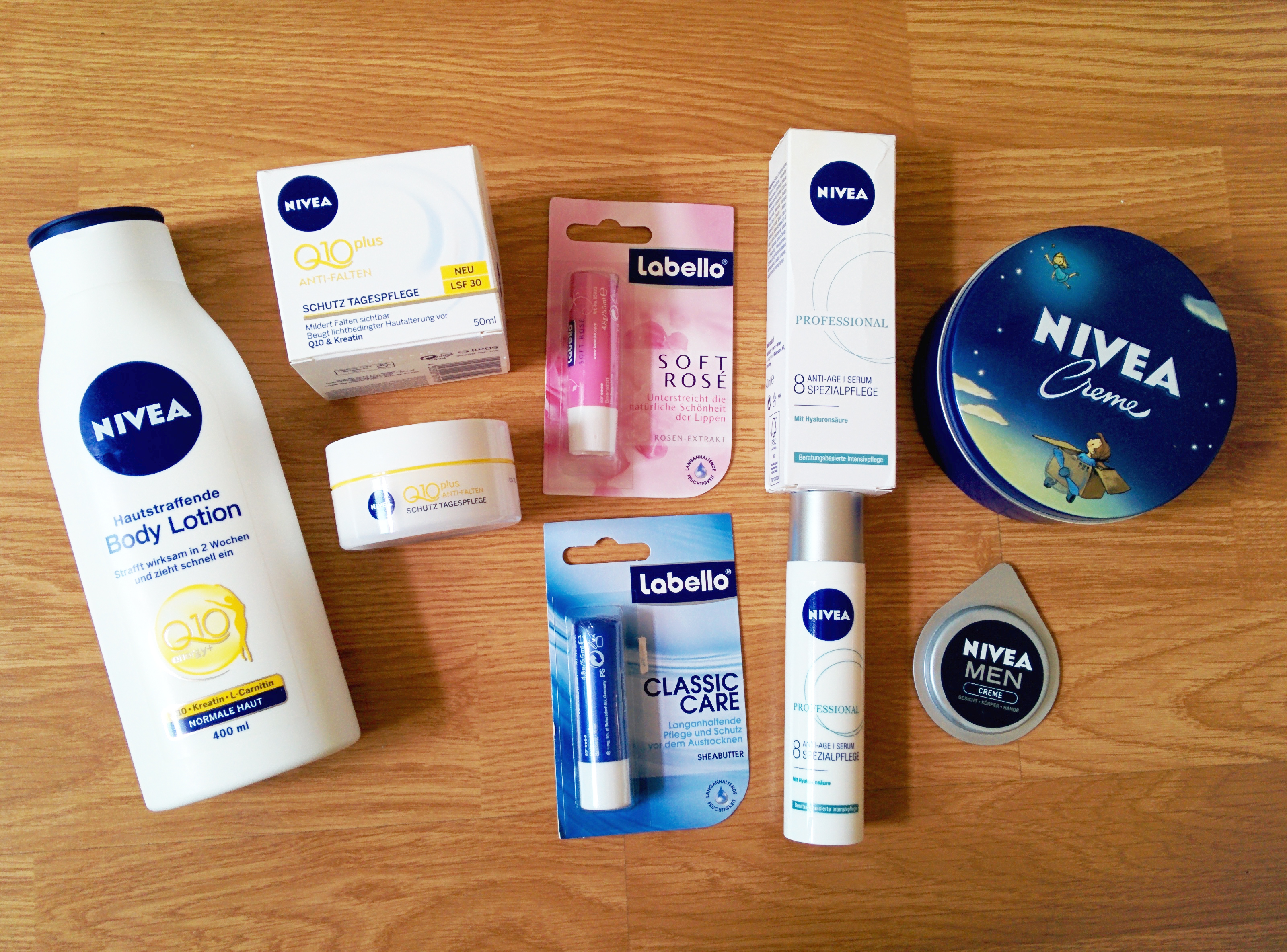 Nivea products